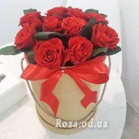 11 роз в коробке - Фото 1