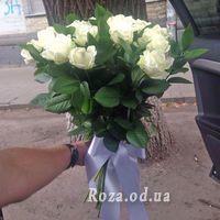 25 white roses - Photo 1
