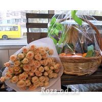 Bouquet of 13 spray roses - Photo 2