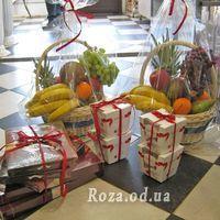 Большая корзина фруктов - Фото 1
