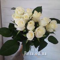 11 белых роз - Фото 3
