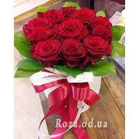 11 роз в коробке - Фото 5
