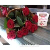 9 roses and Raffaello - Photo 1