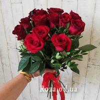 Букет із 11 троянд - Фото 9