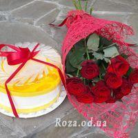 Букет із 11 троянд - Фото 10