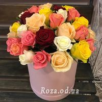 Розы в шляпной коробке - Фото 5