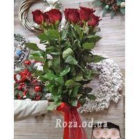 11 импортных красных роз - Фото 5