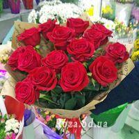 15 красных роз - Фото 4