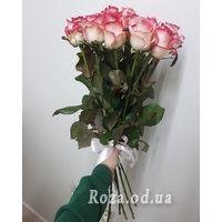 15 розовых роз Джамилия - Фото 2