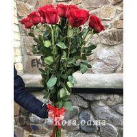 21 импортная красная роза - Фото 1