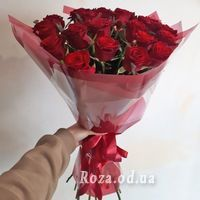 25 red roses - Photo 3