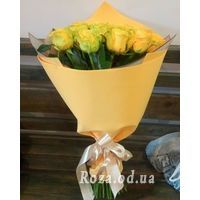 25 yellow roses - Photo 1
