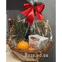 Корзина подарочная с ананасом - Фото 1
