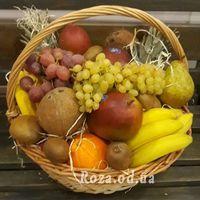 Огромная корзина с фруктами - Фото 3