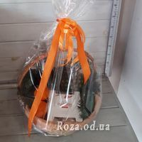Champagne christmas basket - Photo 1