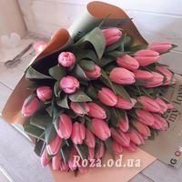 45 рожевих тюльпанів - Фото 1