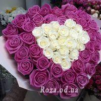 51 pink rose 60 cm - Photo 4
