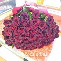 55 красных роз - Фото 1