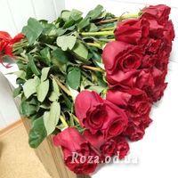 Букет із 45 імпортних троянд - Фото 1