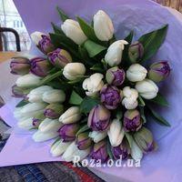 Букет із 51 тюльпана - Фото 2