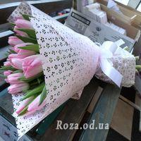 Ніжний букет тюльпанів - Фото 1
