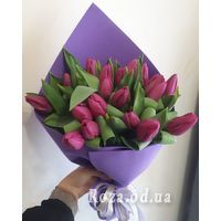 Delicate bouquet of tulips - Photo 2