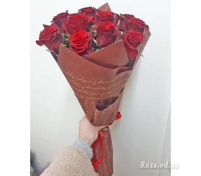 """""""11 roses 10"""" in the online flower shop roza.od.ua"""