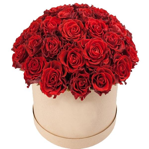 Розы в коробке Одесса