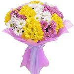 Букеты из хризантем - цветы и букеты на roza.od.ua