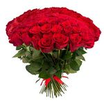 Bouquets of 101 roses - flowers and bouquets on roza.od.ua