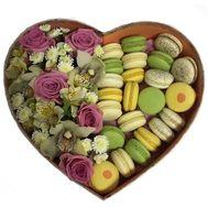 Итальянский десерт - цветы и букеты на roza.od.ua