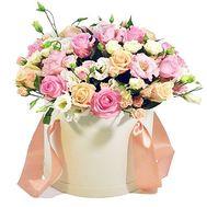 Нежный букет в коробке - цветы и букеты на roza.od.ua