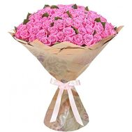 101 pink roses Odessa - flowers and bouquets on roza.od.ua
