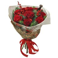 Новорічний коктейль - цветы и букеты на roza.od.ua