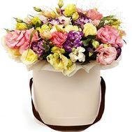 Букет в шляпной коробке - цветы и букеты на roza.od.ua