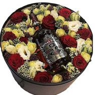 """Flowers and whiskey"" in the online flower shop roza.od.ua"