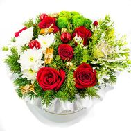 Квіти до Різдва - цветы и букеты на roza.od.ua