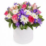 Красивый букет в коробке - цветы и букеты на roza.od.ua