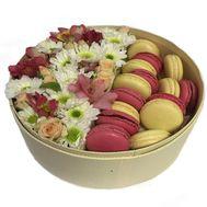 Нежный коктейль - цветы и букеты на roza.od.ua