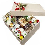 Новогодний коктейль - цветы и букеты на roza.od.ua