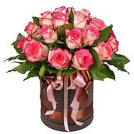 Rose Jamila in the box - flowers and bouquets on roza.od.ua