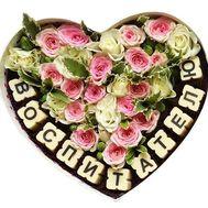 Воспитателю - цветы и букеты на roza.od.ua