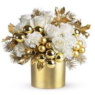 Golden January - flowers and bouquets on roza.od.ua