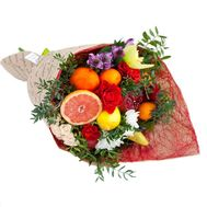 Bouquet of fruits with pomegranate - flowers and bouquets on roza.od.ua