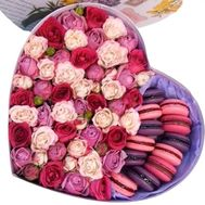 Розовое утро - цветы и букеты на roza.od.ua