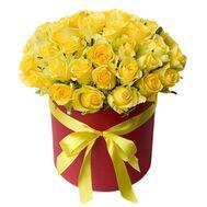 Желтый остров - цветы и букеты на roza.od.ua
