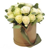 21 roses in a box - flowers and bouquets on roza.od.ua