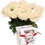 White silk - flowers and bouquets on roza.od.ua