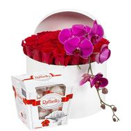 Gourmet compliment - flowers and bouquets on roza.od.ua