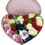 """Strawberry with cream"" in the online flower shop roza.od.ua"
